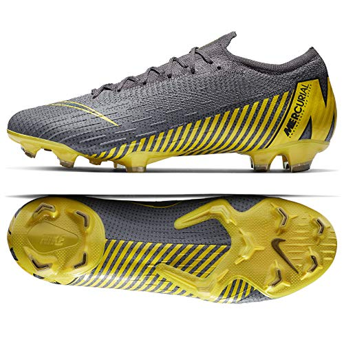 Nike Vapor 12 Elite (FG) Firm-Ground Football Boot (Men's) (8.5 Men's US) Grey ()