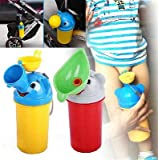Portable Convenient Travel Cute Baby Urinal Kids Potty Girl Boy Car Toilet Vehicular Urinal Traveling urination (For Boy)