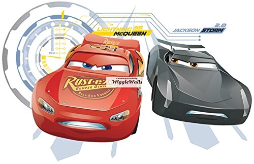 Disney Decals Lightning Mcqueen Art,Cars Cars Wall Designs Cars Wall Murals Jackson Storm Wall Decal,Game Room Cars Decals Cars 3