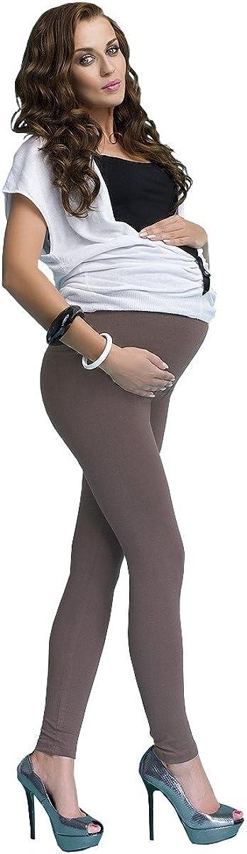 infatti Leggings de maternit/é pour Les Femmes Enceintes Long Pantalon en Coton