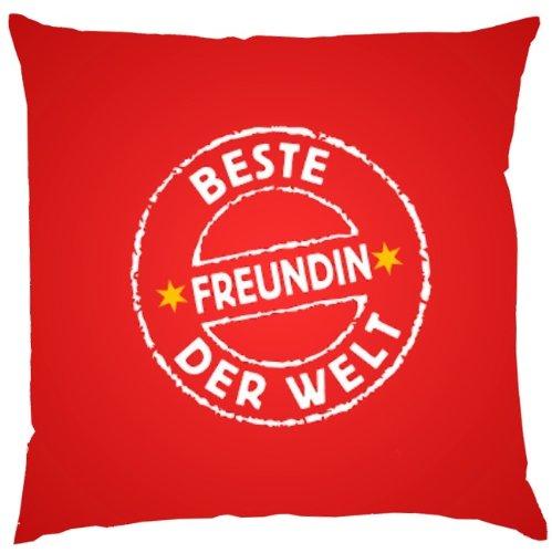 serigrafiado FUN almohada - Diseño: Mejor amiga del Mundo ...