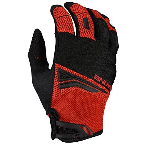 Dakine Men's Cross-X Bike Gloves, Red Rock, (Dakine Full Finger Glove)