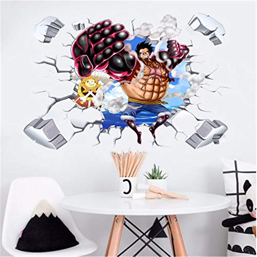 Amazon.com: Wall Stickers for Bedroom,3D One Piece Stereo ...