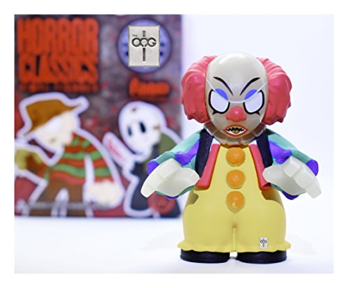 Funko Mystery Mini – Horror Classics [Series 1] – Pennywise [Glow In The Dark] 1/144 Rarity [SUPER RARE!]