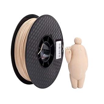Filamento para impresora 3D de madera, filamento PLA de madera, 1 ...