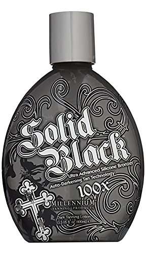 Millenium Tanning New Solid Black Bronzer Tanning Bed Lotion, 100x, 13.5-Ounce Strictly Faces Medium Self Tanner lvl 2 2 Fl Oz by Sun Laboratories – Body and Face
