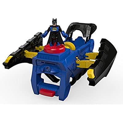 Fisher-Price Imaginext DC Super Friends, 2 In 1 Batwing: Toys & Games