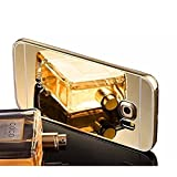 Samsung Galaxy S7 SM-G930F case,Vandot Luxury Ultra Slim Thin Detachable Metal Aluminum Bumper Frame Bling Mirror Case Cover PC Hard Back Shell Anti-scratch shockproof Protective skin Pattern-Gold