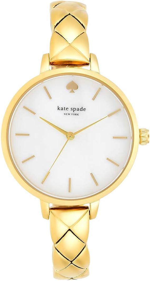 Kate Spade New York Ladies Metro Wrist Watch Slim 10MM Bracelet