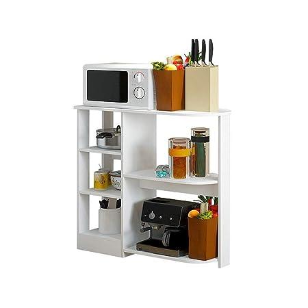 QAZWSX Estante de Almacenamiento, Estante Consola Cocina ...