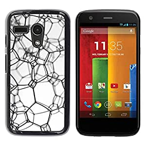 "For Motorola Moto G ( 1st Generation ) , S-type Textura sucia"" - Arte & diseño plástico duro Fundas Cover Cubre Hard Case Cover"