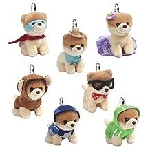 Boo sweet Dog Surprise Plush mini Mystery Box Series 1 Chosen Random Size 7 cm x 4cm x 6.5cm / seven different styles