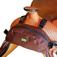 Trailmax Pommel Pocket. Zadeltas Western Packtasche bruin
