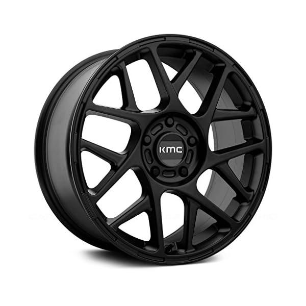 KMC-KM708-16×75-5×110-30mm-Satin-Black-Wheel-Rim
