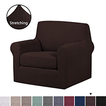 Super H Versailtex 2 Pieces Skid Resistance Sofa Cover Furniture Protector Jacquard Spandex Couch Covers Fitted Sofa Protector Stretch Knitted Jacquard Caraccident5 Cool Chair Designs And Ideas Caraccident5Info