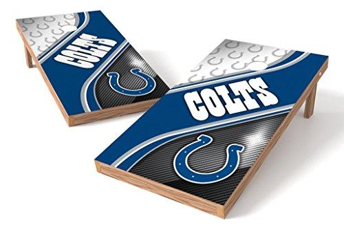 PROLINE NFL Indianapolis Colts 2'x4' Cornhole Board Set - Swirl Design