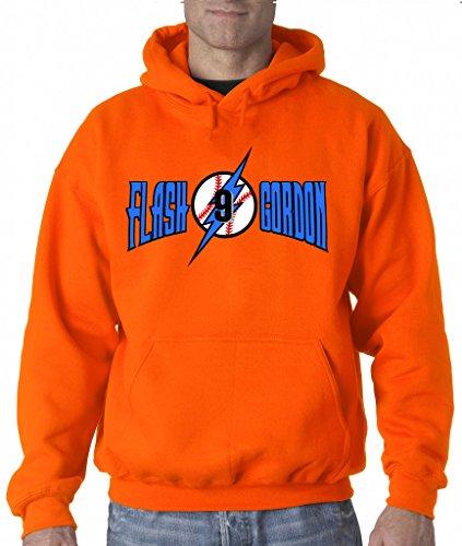 "Dee Gordon Miami Marlins ""Flash Gordon"" Hooded Sweatshirt ADULT SMALL"