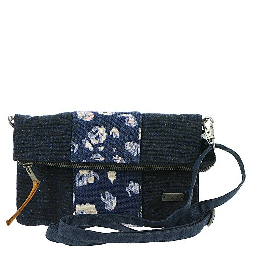 Roxy Poetic Winter Crossbody Bag, Dress (Jacquard Bucket Handbag)