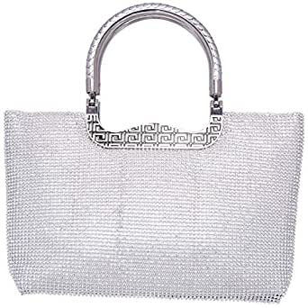 Great Wall 01612-1 Clutches for Women - Multi, Silver