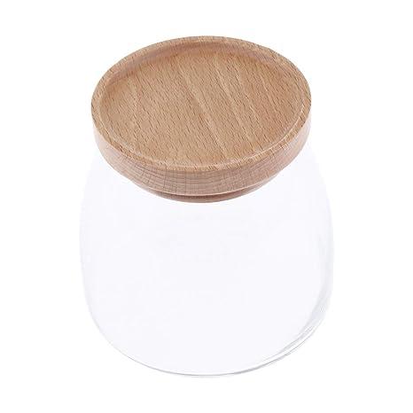 B Baosity Recipiente Frascos para Almacenar Variedad de Ingredientes Mermeladas,Salsas Picantes,Arroz -