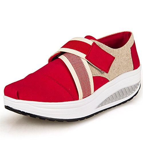 pit4tk-Women-Shake-Shoes-Woman-Platform-Wedges-Swing-Canvas-Shoes-Air-Cushion-Casual-Lightweight-Walking-Shoes-Red-365-BM-US-Women