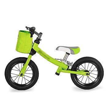 JianMeiHome Bicicleta para niños Bicicleta para niños Bicicleta para Dos Ruedas sin Pedal 2-6 años (Color : Green): Amazon.es: Hogar