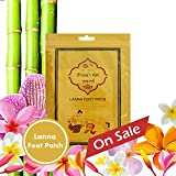 Thailand All Natural Herb Foot Pads/Lanna Foot Patch |RemoveImpurities/RelieveStress/ImproveSleep/Health for your body-(10pc/5pairs)