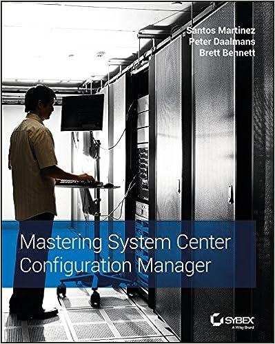 Amazon com: Mastering System Center Configuration Manager