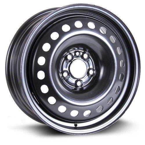 Steel Rim 17X7, 5X110, 65.1, +46, black finish (MULTI APPLICATION FITMENT) X47510