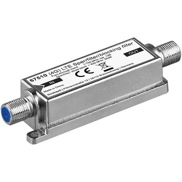 goobay Wentronic 67510 - Amplificador de señal de TV (F ...