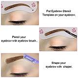 Lictin 4 Pcs Eyebrow Razor Trimmer Shaper