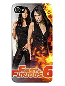 Cool Fast and Furious fashionable Design Plastic PC Case Cover for iphone 4/4s BY icecream design