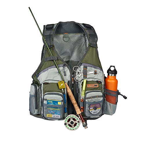 Anglatech fly fishing vest pack for trout fishing gear and for Women s fly fishing gear