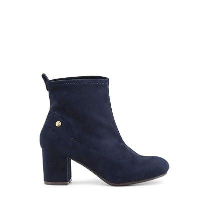 977373c5490f73 XTI 30461 Stiefeletten Damen Blau 37  Amazon.de  Schuhe   Handtaschen