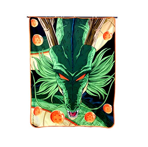 Dragon Ball Super Plush Soft Fleece Travel/Camping/Cozy, Blanket/Throw Compact Sized 45 x 60 inches ()