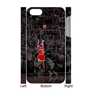 SHJFDIYCase Design Brand NewMichael Jordan Hot Sale 3D Phone Case for Iphone 4,4S, DIY Cell Phone Case SHJF-528068