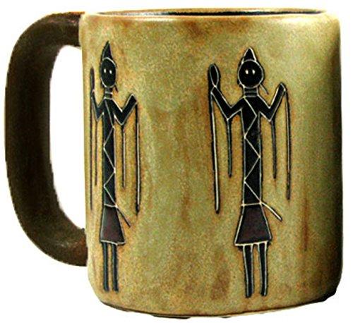 Mara Stoneware Mug - Yei Figures - 16 oz