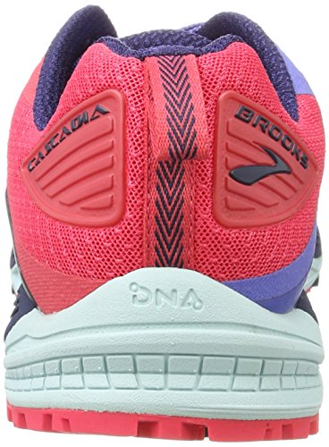 Brooks Womens Cascadia 12 Baja Blue / Paradise Pink / Clearwater