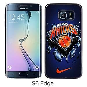 new york knicks Black Hard Plastic Samsung Galaxy S6 Edge G9250 Phone Cover Case