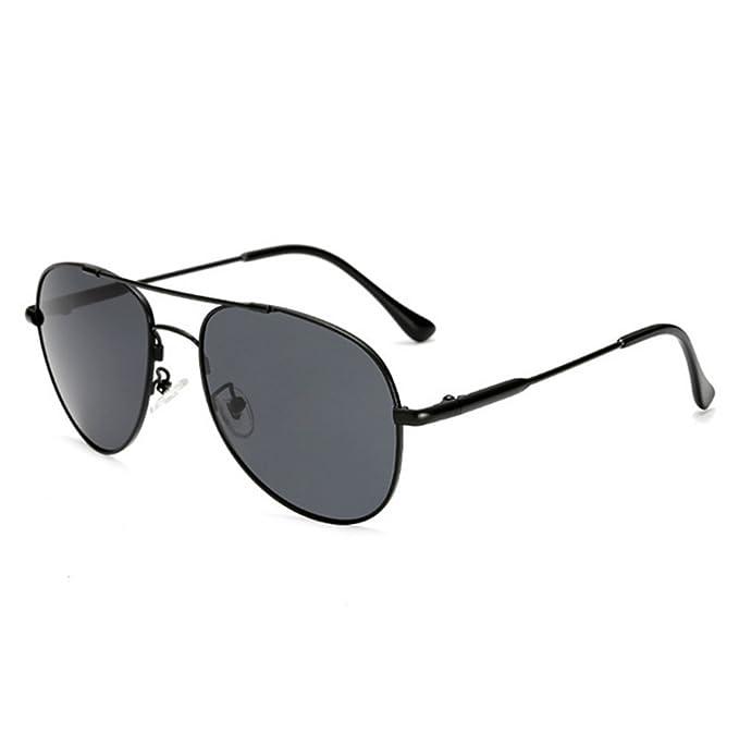 vidrios para hombre Hombres gafas de sol polarizaron, Marco grande ...