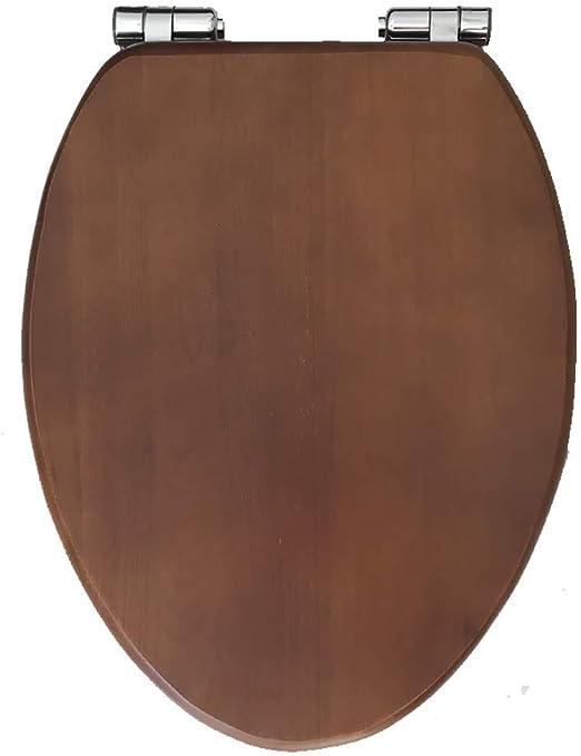 Inodoro Asiento Inodoro universal color nogal