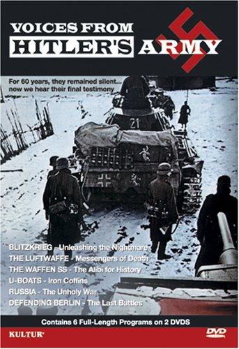(Voices From Hitler's Army 2 Disc Set - Blitzkrieg, Luftwaffe, Waffen SS, U Boats, Russia - The Unholy War, Defending Berlin)