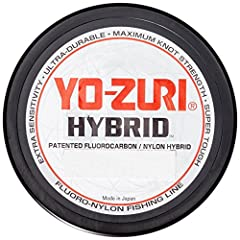 Our goal or developing a new revolutionary fishing line was lofty-make a line that was stronger, more abrasion resistant, more sensitive and more durable than any nylon lines on the market. Hybrid is the first and only fishing line that molec...