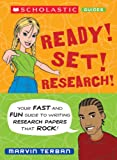 Ready! Set! Research!, Marvin Terban, 0439799872