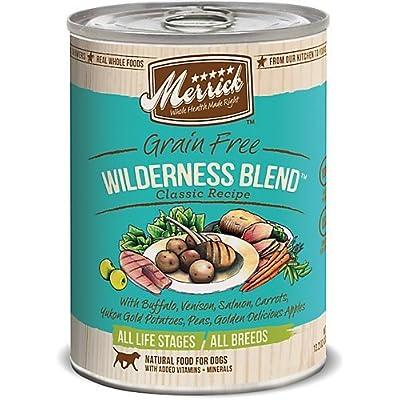 Merrick Classic Grain Free Wilderness Blend Canned Dog Food