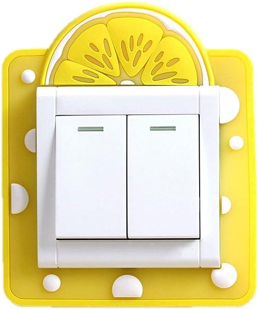 Vosarea 4 Piezas De Pegatinas De Interruptor De Luz Pegatinas Interruptor Luminosa Etiqueta Decoraci/óN De La Pared Del Interruptor Para Sala Dormitorio