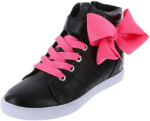 Jojo Siwa Girls High Top Sneaker Black