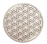 12'' Flower of Life, Seed of Life, home decor, wooden wall art, sacred geometry art, sculpture, wall decorations, USA made