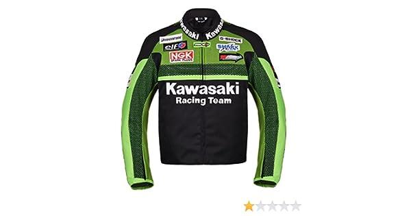 Kawasaki Racing Team Moto Chaqueta Textil (XXL (EU58)): Amazon.es: Coche y moto