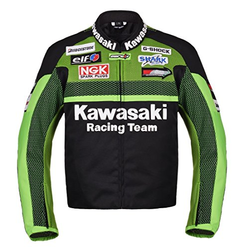 Corelli MG Kawasaki Racing Team Moto Chaqueta Textil (XL(EU56))